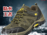 夏季新款登山鞋批发 正品深沙骆驼户外登山鞋防滑MD底厂家直销