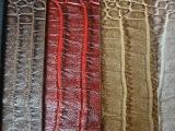 新款仿真鳄鱼纹皮革 高档精品鳄鱼纹人造革