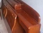 纯实木1.5米床头 床头柜