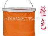 户外折叠水桶塑料折叠居家必备环保折叠车载水桶13L加厚涤纶防漏