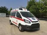 大连高铁转院病人 120救护车转运病人