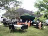 深圳天地中供应 10人单层防风防雨独立内帐装拆快捷的活动帐篷