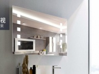 定制LED灯浴室防雾镜酒店及美容美发店壁挂镜
