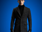 淘宝备货GUEQI  绅士风衣 纺毛线修身 男式呢子风衣秋冬外套批发