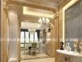 南阳城市人家装饰和谐的古典之美150平欧式古典风格