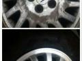 大理永辉汽配修专业轮毂修复,改色,拉丝,翻新,电镀