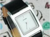 全新正品简约时尚皮带男表方型男士手表时装表复古表