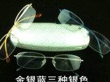 低价批发100%纯钛男女近视眼镜框架 新款时尚 外贸尾单半框镜架
