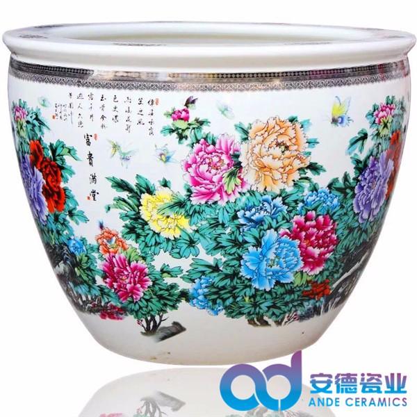 景德镇陶瓷缸批发 定制陶瓷泡澡缸