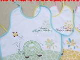 批发韩版宝宝口水巾吸水 新生婴儿天鹅绒大象防水 围嘴围嘴围兜、