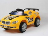 乐的宝马乐的835 霹雳警车儿童电动遥控车宝宝玩具车四轮可坐童车