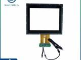 12寸工控电容屏人机界面 厂家定制防水防油工业触摸屏