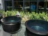 泡澡缸1.1米1.2米极乐汤温泉陶瓷泡澡洗浴大缸景德镇厂家