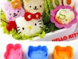 hello kitty/米菲兔子/熊宝宝日式立体寿司饭团模具 3
