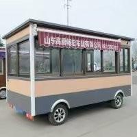 客美滋电动餐车