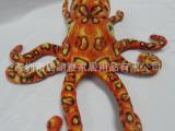 八爪鱼毛绒玩具 海洋动物毛绒公仔仿真毛绒公仔 乌贼公仔