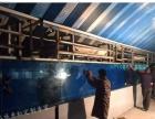 南通大型鱼缸定做别墅私人定制镶嵌式水族箱