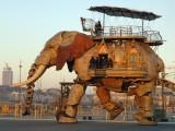 大同机械大象出租 机械大象厂家
