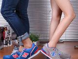 夏季透气韩国n字母运动休闲鞋韩版N仔松糕鞋阿甘鞋学生男女球鞋子