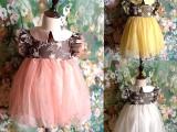 夏季韩版连衣裙童裙品牌童装儿童女童时尚公主裙蕾丝裙爆款批发