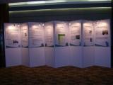 广州广告书画宣传展板,八棱柱活动展览展板出租