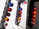 新款自行车宝石灯 自行车警示灯 彩色自行车灯 青蛙自行车尾灯50g