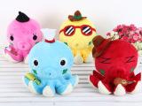 八爪鱼 章鱼公仔 可爱情侣毛绒玩具 结婚生日创意礼物 女生