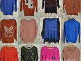 原单外贸女服装低价批发时尚韩版库存尾货针织厂 杂款毛衣