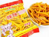 潮安优质零食批发 淘宝零食博味咪咪虾条 80后膨化小零食 1*4