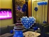 苏州气球装饰宝宝宴气球生日布置