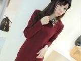 2014新款豹纹翻领打底衫女士加绒加厚双层长款小衫女韩版t恤