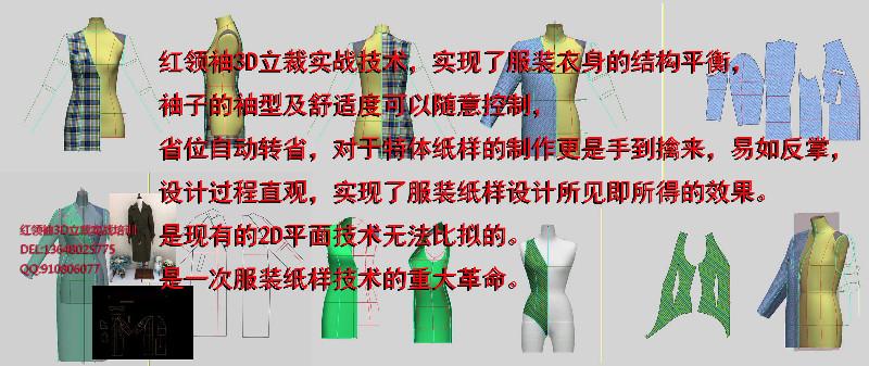 服装制版最好的方法-成都红**3D立裁服装制版实战技术培训
