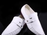 厂家直销秋款真皮商务男鞋英伦韩版休闲尖头皮鞋男单鞋透气皮鞋