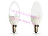 上海亚明 C37 3W LED 烛泡灯 E14 小螺口3000K