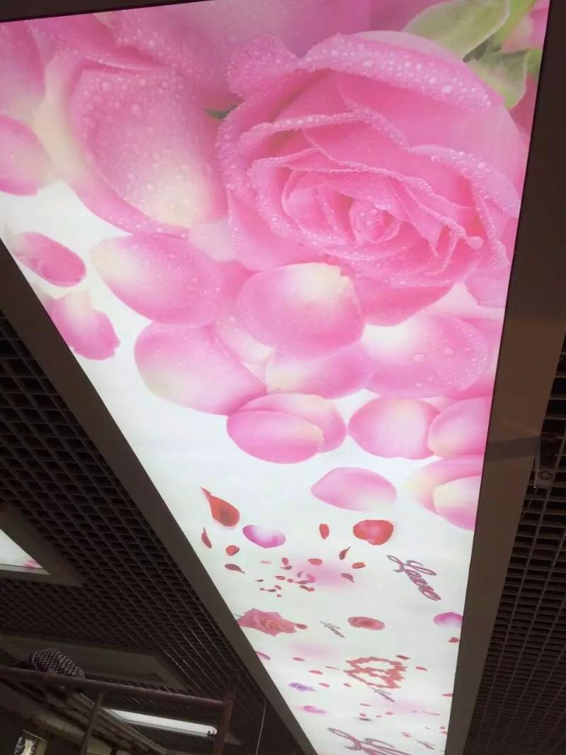 滨州软膜灯箱厂家,滨州拉膜吊顶-游泳馆软膜天花洗浴天花