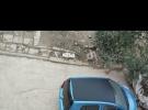蓝色雷丁四轮电动汽车出售22000元