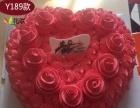 订玫瑰花蛋糕数码艺术蛋糕女朋友老婆老公妈妈生日蛋糕