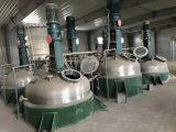 转让二手5吨不锈钢反应釜,外夹套,内盘管现货供应