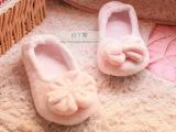 春秋冬季可爱大蝴蝶软底居家拖鞋家居拖鞋地板拖女包跟棉靴月子鞋