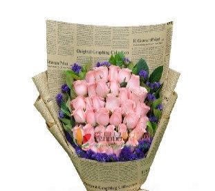 鲜花,手捧花,玫瑰花束礼盒,网上订花