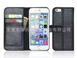 专业生产 iPhone6 左右开+利仔皮套 苹果6代手机皮套保护