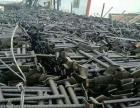 葫芦岛大量出售二手架子管 扣件 跳板 油托 工字钢等建筑材料