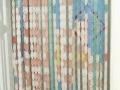 35-45元出售全塑透防蚊蝇气门帘、全铝百叶窗帘
