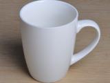 厂家直销陶瓷杯 鼓形杯批发 礼品促销 定制LOGO花面