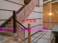 吉林中欧式风格 别墅会所旋转楼梯护栏扶手雕刻