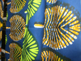 非洲全棉仿蜡印花布仿蜡染布非洲传统服饰面料C40x40 96x9