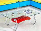 牛七家具 透明钢化玻璃茶几 长方形 创意小户型客厅简易茶几CP08A