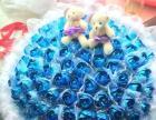纯手工制作99朵蓝玫瑰,代表着爱情长长久久,永不凋谢的花