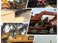 上海明翱二手挖掘机市场,场地2000台挖机