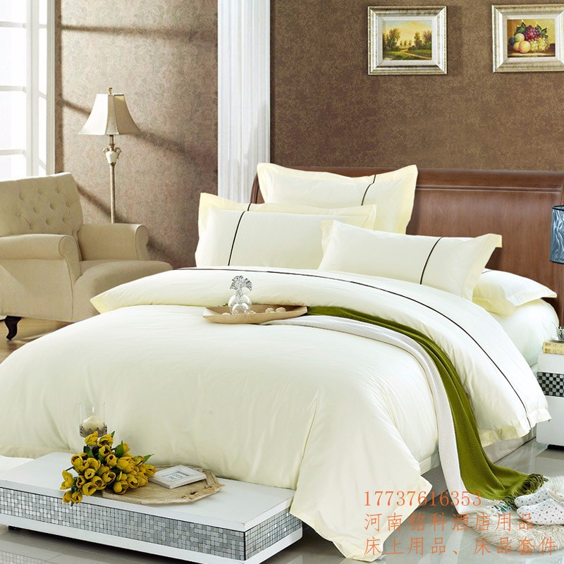 河南酒店布草,酒店羽绒布草羽绒床品,羽绒枕芯被芯